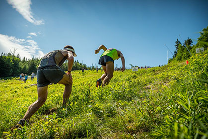 Uphill running tips from a champ